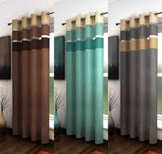 Chocolate Curtains Eyelet Duck Egg Voile Curtains Integralbook Com