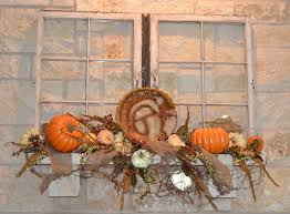 thanksgiving mantel once upon 2 b u0027s