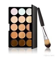 dhl contour face cream makeup concealer palette foundation brush
