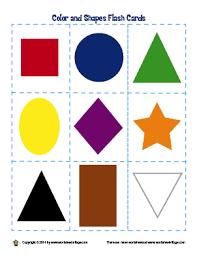 shape recognition worksheet worksheet library colors and shapes