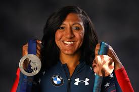 medal gold hair products elana meyers taylor s olympic beauty routine could win a gold