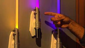 Lightsaber Bedroom Light Wars 25 Multi Color Lightsaber Room Light With Rick Domeier