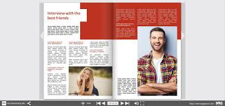 Wedding Magazine Template Mag Glance Online Or Printed Personal Wedding Magazine As Gift