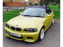 Bmw M3 Colour Used Bmw M3 Convertible 3 2 M3 Sequential 2dr In Dunstable