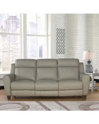 abbyson living bradford faux leather reclining sofa sale abbyson stanford grey leather power reclining sofa