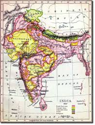 Map Of India States by Map Index Tornos India