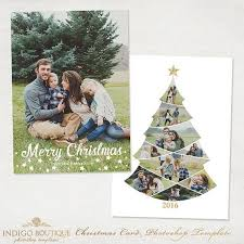 photoshop christmas card templates photographers free template