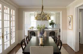 Dining Room Chandeliers Transitional Ebony Dining Table And Chairs With Gold Chandelier Transitional