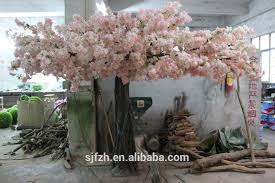 indoor wedding arch indoor decoration artificial indoor cherry blossom tree light pink