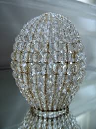 large rustic beaded light bulb cover antiqued rustic style
