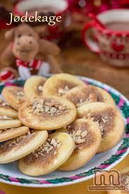 cuisine danoise jødekage petits gâteaux de noël danois macaronette et cie