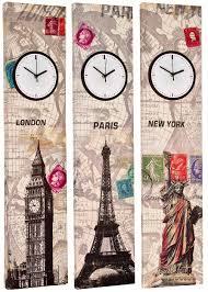 appealing wall decor decorative clocks for walls wall ideas