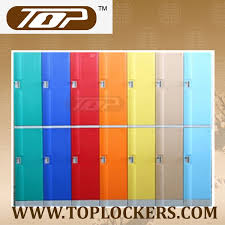 Plastic Cabinets Double Tier Abs Plastic Cabinets Red Color China Top Lockers