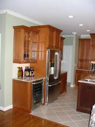 kitchen cabinet tops gorgeous u shape kitchen decoration using solid oak wood kitchen