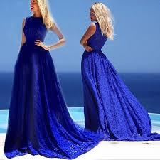 blue maternity formal evening maxi dress wedding gown ball gown