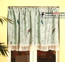 Cafe Kitchen Curtains Curtains With Birds U2013 Teawing Co