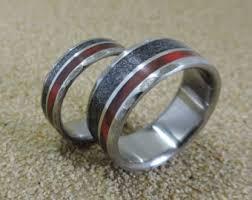 Etsy Wedding Rings by Titanium Rings Wedding Rings Moissanite Ring Engagement