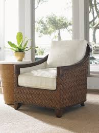 Tommy Bahama Home Decor by Island Fusion Kendari Round Accent Table Lexington Home Brands