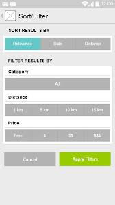 gui design patterns 12 best ux search filters images on app design apps