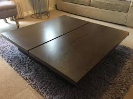 opus oak coffee table rascalartsnyc