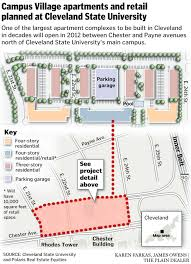 Cleveland State Campus Map by New Neighborhood To Rise On Cleveland State University Campus