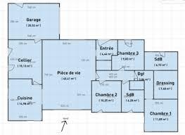 plan maison plain pied 5 chambres maison plain pied 5 chambres avec suite parentale inside plan maison
