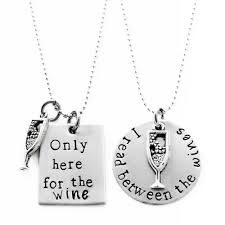 black charm necklace images Jewelry necklaces wine glass charm pendant necklace jpg