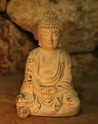 sitting buddha statue for meditation rooms yoga zen sculpture