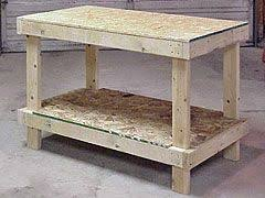Easy Wood Workbench Plans by Best 25 Building A Workshop Ideas On Pinterest Wood Work Bench