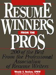The Best Resume Writers by Resume Winners From The Pros 200 Of The Best From The
