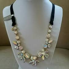 jewelry ribbon necklace images 36 off j crew jewelry j crew crystal ribbon necklace f3206 jpg