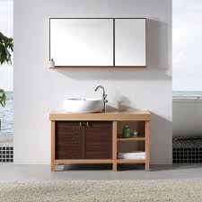 Bathroom Cabinets Wood Unique Two Door Solid Wood Bathroom Cabinet Indusperformance