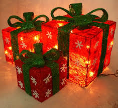 my top 6 outdoor decorations lighted gift boxes