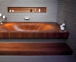 wooden bathtubs bathtubs wood concrete and porcelain