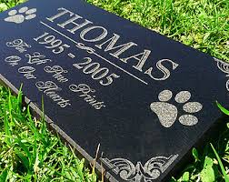 affordable grave markers pet grave markers etsy