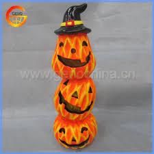 cute halloween decorative ceramic pumpkin clay pumpkin buy clay