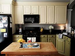 Two Color Kitchen Cabinet Ideas Two Color Kitchen Cabinets Ideas Ideas Design Home Improvement
