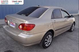 2005 toyota corolla le for sale for sale 2005 passenger car toyota corolla ce waterloo insurance