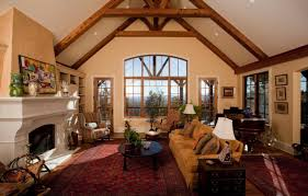 living room vaulted ceiling living room paint color cabin