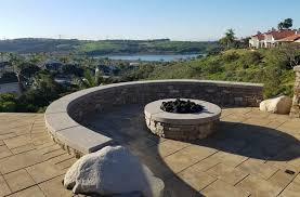Fire Pits San Diego by Fire Pits Is It Safe For My Yard Savon Pavers