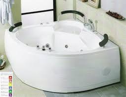 bathtubs cool corner jacuzzi tub with shower 140 venzi esta x