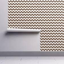 Zig Zag Floor L Zig Zag Chevron Chocolate Wallpaper Littlerhodydesign Spoonflower