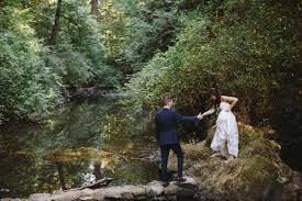 Leach Botanical Garden by Anchorage Ak Wedding Photographer