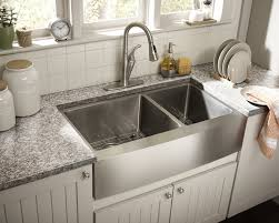 Double Bowl Stainless Steel Kitchen Sink Stainless Steel Double Barn Sink Yippee Kitchen Island