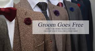 wedding hire wedding tweed suit hire wedding suit hire from jennis warmann