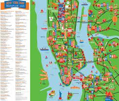 map ny city on map of ny city attractions world maps