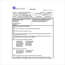 Construction Progress Report Template Free by Weekly Status Report Template 9 Free Documents In Word