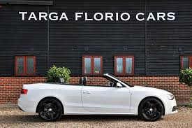 white audi a5 convertible audi a5 convertible 2 0 tdi 177ps s line special edition for sale