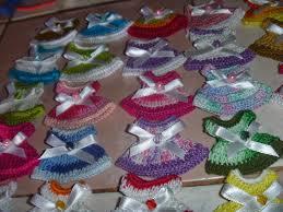 hhall crochet recuerdos de baby shower