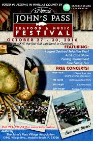 john u0027s pass seafood festival mad beach events madeira beach